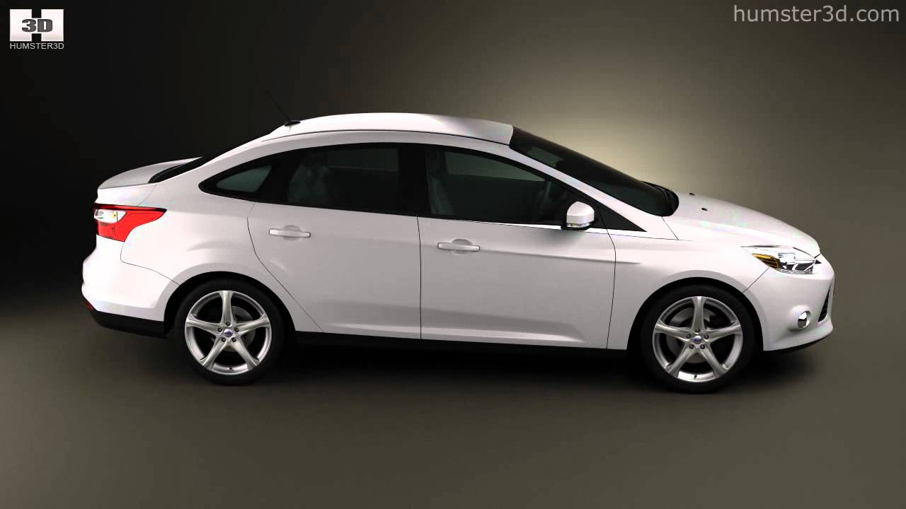 ford focus sedan 2011 by 3d model store youtube. Black Bedroom Furniture Sets. Home Design Ideas