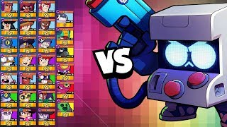 8 Bit 1v1 vs EVERY Brawler | ALL UPDATE INFO! New Brawler in Brawl Stars