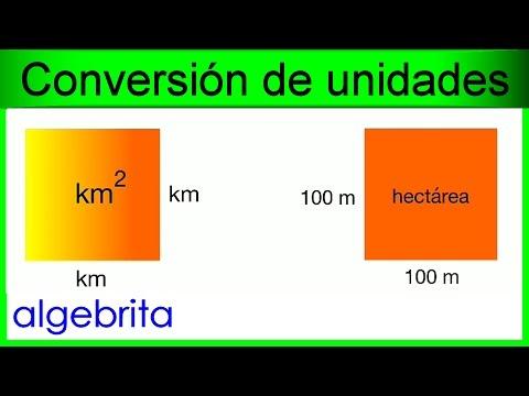 Convertir kil metros cuadrados a hect reas km2 a ha conversi n de unidades de rea 420 youtube - Pasar de metros a metros cuadrados ...