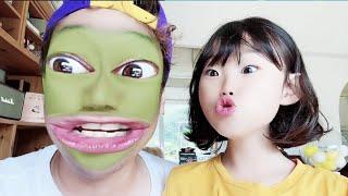 도전 웃음참기! 웃기는 스노우 어플 핸드폰 게임 | @라임게임 Funny face change app game  LimeTube