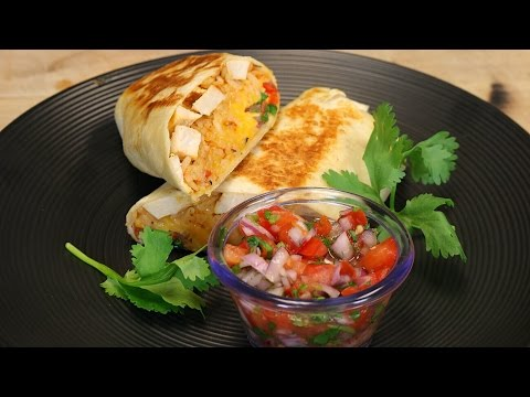Grilled Stuffed Chicken Burrito – chicken burrito