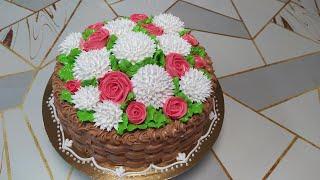 Торт корзина для подписчицы Алёны