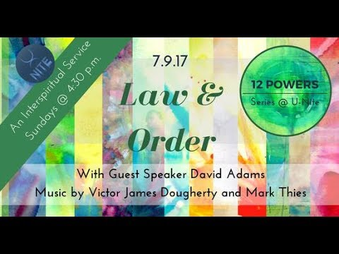 "12 Powers: ""Law & Order"" 07/09/2017  by David Adams"