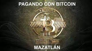 Pagando con Bitcoin - Mazatlan