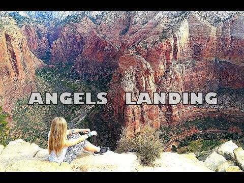 ★Angels Landing★ Extreme hiking in Zion NP