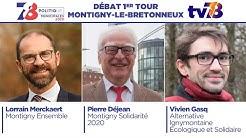 Municipales 2020. Montigny-Le-Bretonneux. Débat du 1er tour.