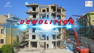 Demolizione ripresa dal drone - Ferraro Spa - Soverato CZ Italia
