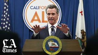 Trump's unemployment benefit plan won't work in California, Newsom says