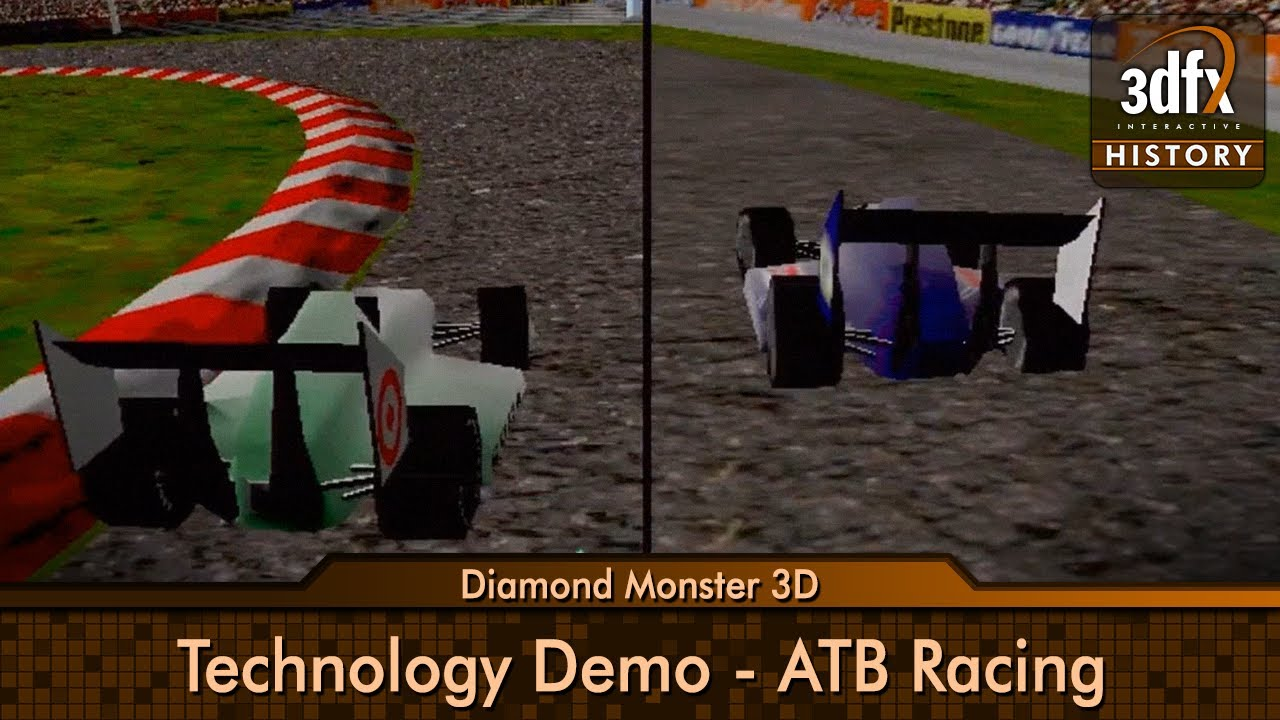 3dfx voodoo 1 diamond monster 3d technologie demo for Createur 3d