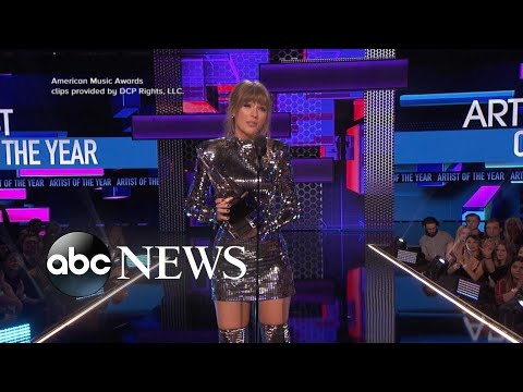 Inside Taylor Swifts record-breaking night at the AMAs