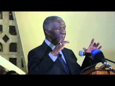 Former President Thabo Mbeki speaks at the Bethesda Methodist Mission - 3 October, 2013
