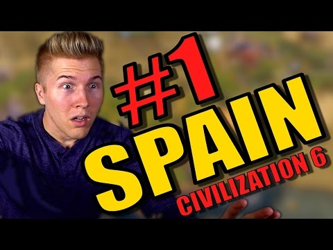 Civilization 6 [Civ 6 Gameplay / Let's Play] Spain | Culture Victory Strategy - Part 1