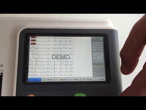 ECG Elettrocardiografo BIOCARE iE300 - 3/6 canali / Interpretativo