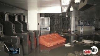 Hurricane Sandy cripples NYC subways