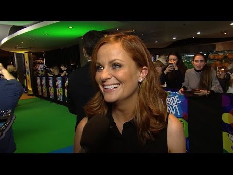INSIDE OUT - Australian Premiere Red Carpet - Amy Poehler Interview