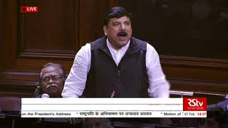 Sh  Sanjay Singh's Speech   Motion of Thanks to the President's Address