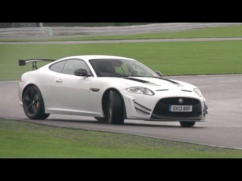 Jaguar XKR-S GT Driven on Track -- /CHRIS HARRIS ON CARS
