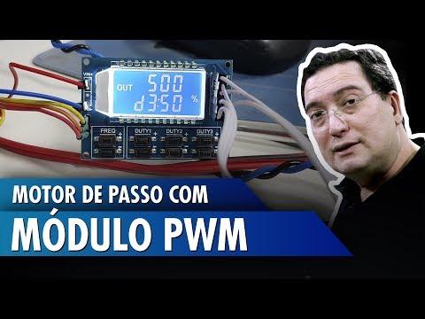 Motor de passo com módulo PWM