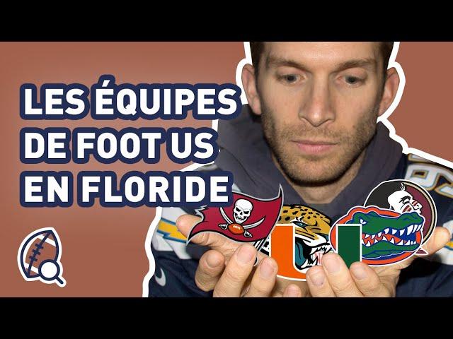 La minute football américain #26 : Combien d'équipe de foot US y a-t-il en Floride ?