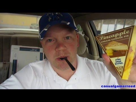Reed Reviews - Long John Silver's Pineapple Cream Cheese Pie