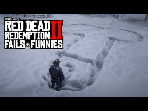 Red Dead Redemption 2 - Fails & Funnies #1 (Random & Funny Moments)