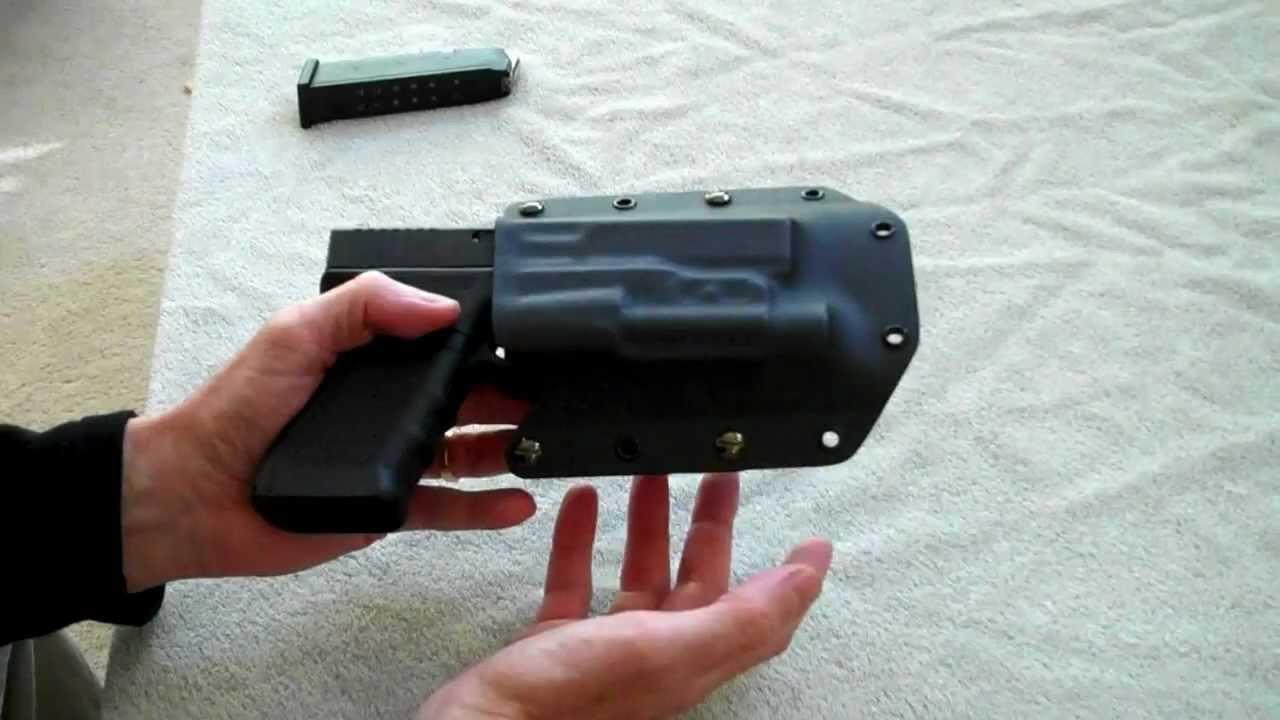 Trident Concealment Light Bearing Kydex Holster