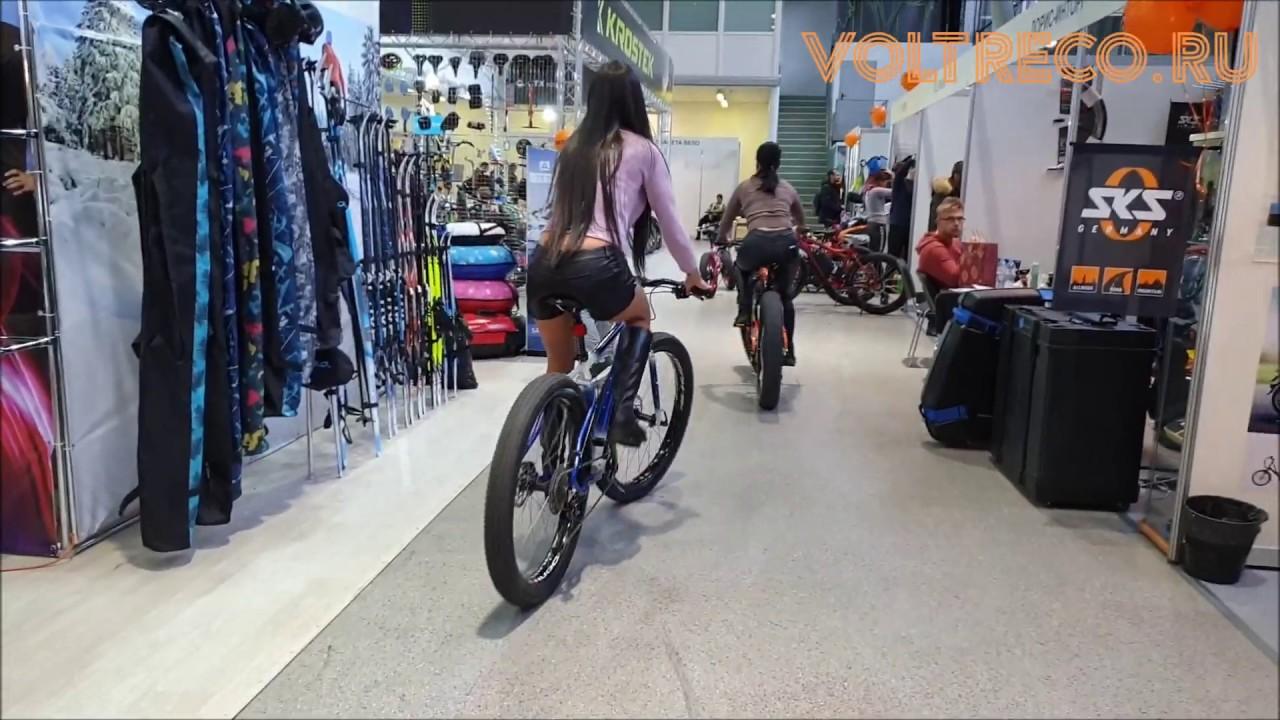 Электровелосипед Болотоход 2700w 60v 30Ah Новинка Велопарк 2019 Обзор Voltreco.ru