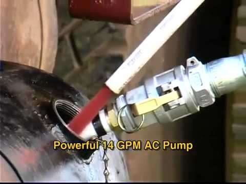 IPA Tools 9049M Mobile Fleet Tank Sweeper®: How To Remove Contamination From Diesel Tanks