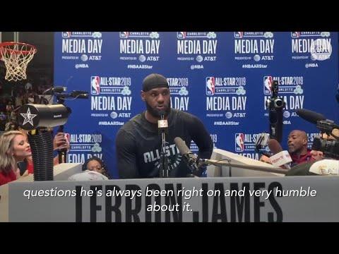 LeBron James on Duke and Zion Williamson comparisons