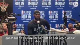 LeBron James on Duke and Zion Williamson comparisons thumbnail