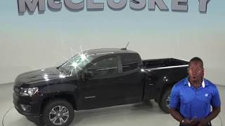 183854 New 2018 Chevrolet Colorado Z71 4WD black Test Drive, Review, For Sale -
