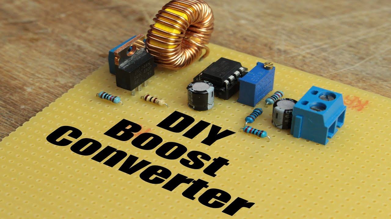 Diy Boost Converter How To Step Up Dc Voltage Efficiently Youtube Power Supply Composed Of Bg602 2 Powersupplycircuit Circuit