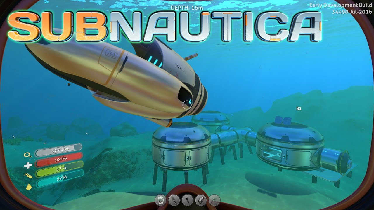how to get building subnautica