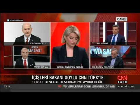 Bakanımız Sn. Süleyman Soylu, CNN Türk Canlı Yayınına Telefonla Bağlandı