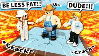Which Roblox fat man broke the glass