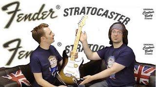 Fender Stratocaster Shootout - Squier vs Fender vs Custom Shop