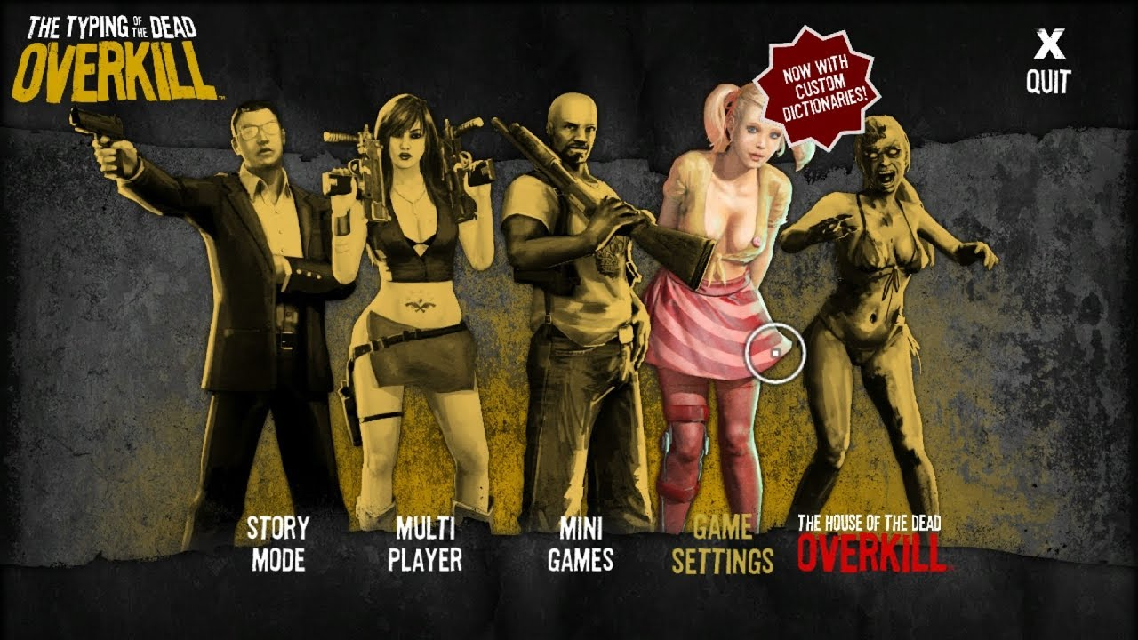 house of the dead overkill characters
