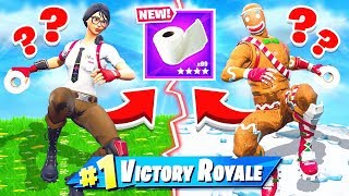 TOILET PAPER BATTLE *NEW* Game Mode in Fortnite Battle Royale