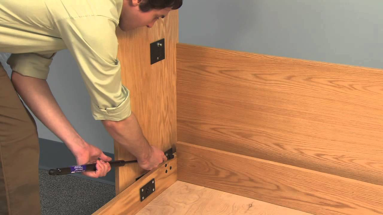 Create a bed deluxe murphy bed mechanism with tube legs youtube ccuart Gallery