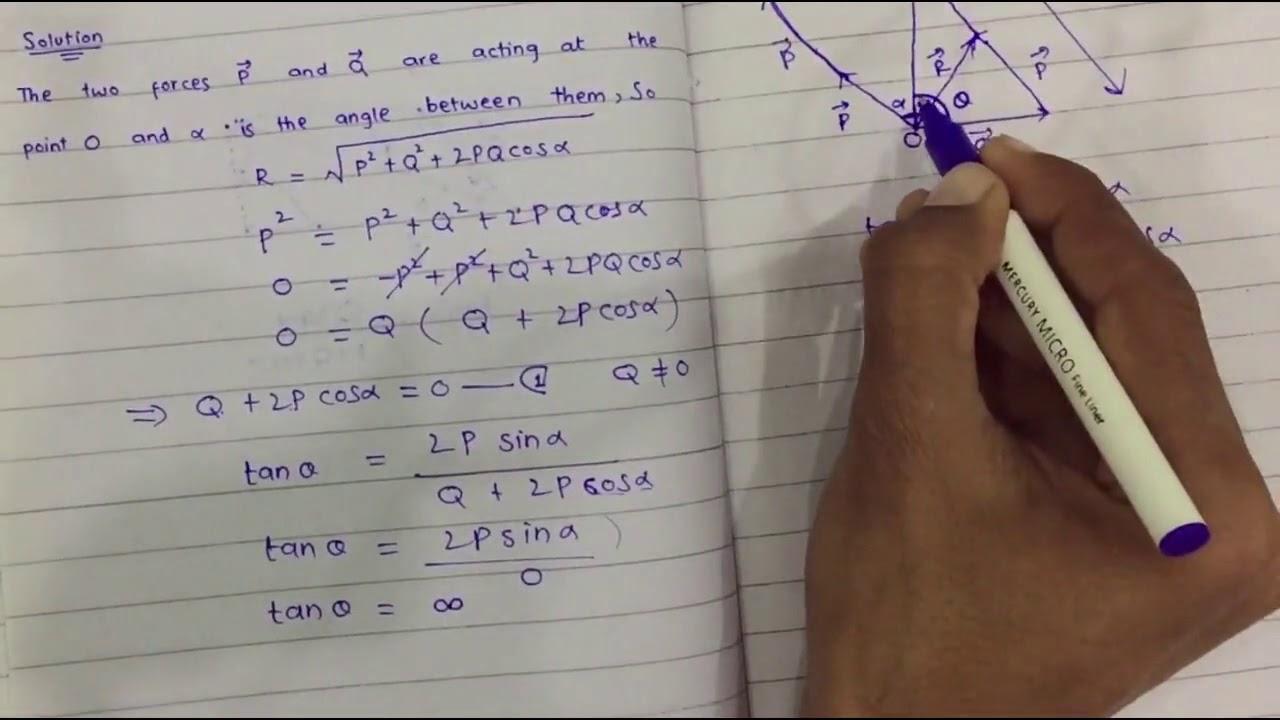 Mechanics Bsc Math Ch 1,lec 3
