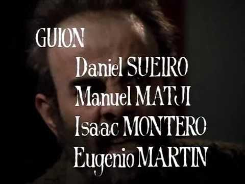 Antón García Abril music score from CERVANTES, The TV. Series (Alfonso Ungría, 1981) Titles.