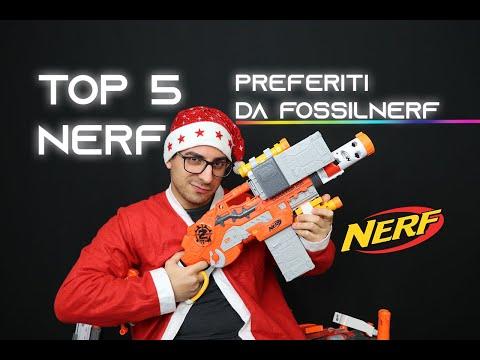 Top 5 Nerf Preferiti Di FossilNerf || Natale 2019