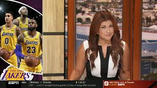 The Jump | Rachel Nichols: Rockets hurting themselves by criticizing ref & Lakers's playoff chances?