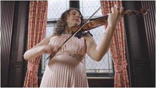 Gioia Gedicks Performs Bach's Partita No. 3 in E Major, Movement I – Preludio