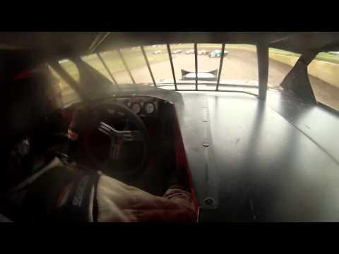 Heat race Cedar Lake Speedway 7-13-13