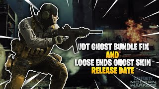 In this video i talk about when we are getting a fix for the udt ghost bundle that you get from pre-ordering mw2r and also new loose ends skin...