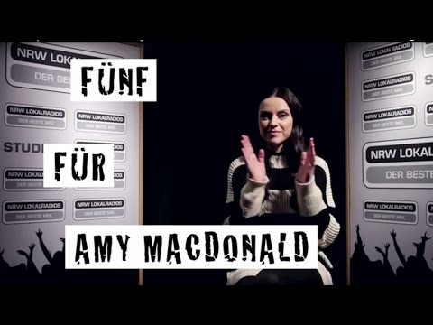 Fünf für Amy Macdonald - das Interview ohne Fragen