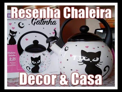 VEDA 16 - Resenha Da Chaleira Decor & Casa - Gatinha