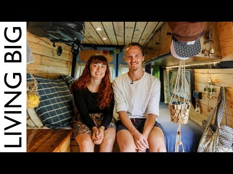 Couple Convert Van For Full Time Living And Travel in Australia
