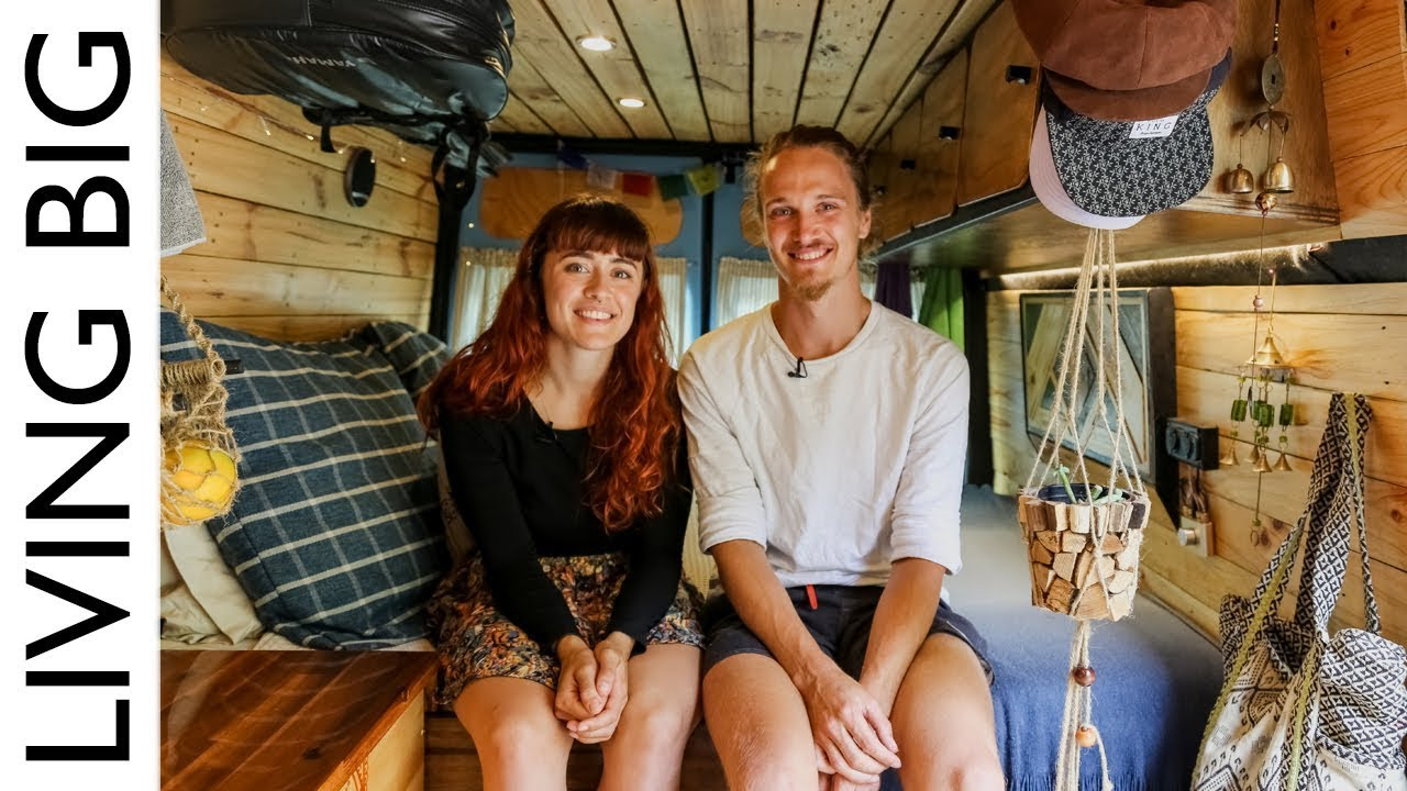 Couple Convert Van For Full Time Living And Travel In
